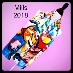 Accessories - ❣️Abstract Art Satin Scarf